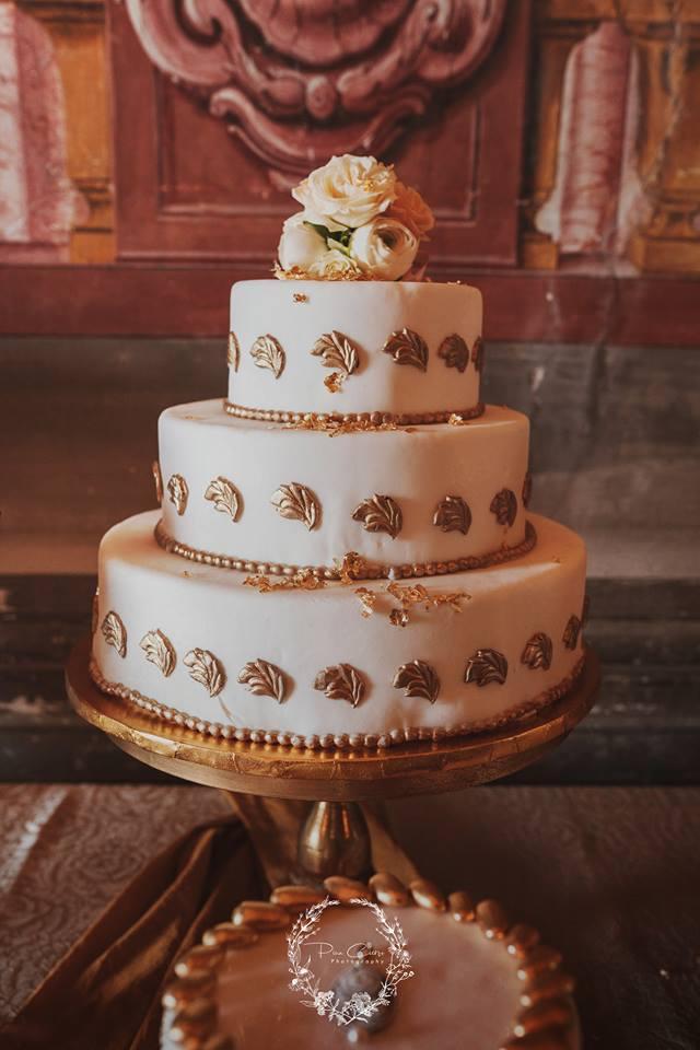 torta matrimonio in villa barocca