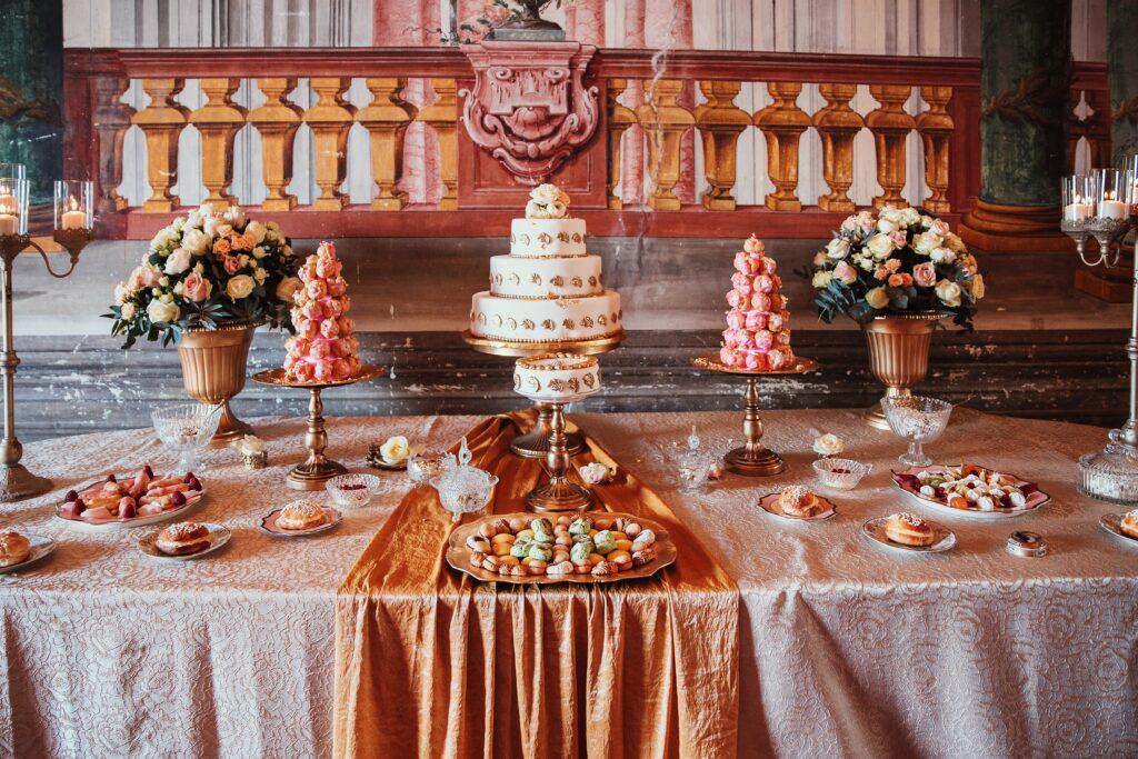 buffet dolci barocco