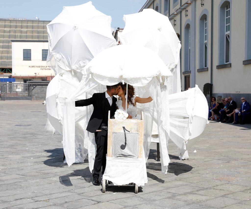 Baracca dei buffoni al Museo di Pietrarsa