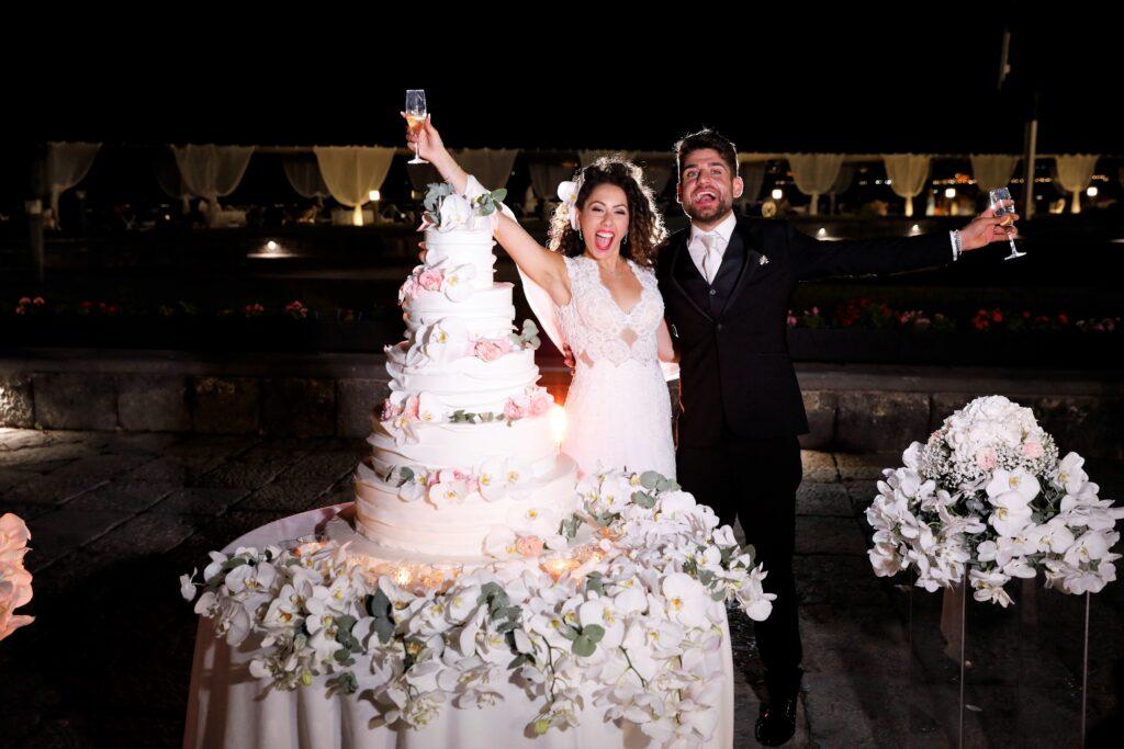 wedding cake matrimonio al museo di Pietrarsa