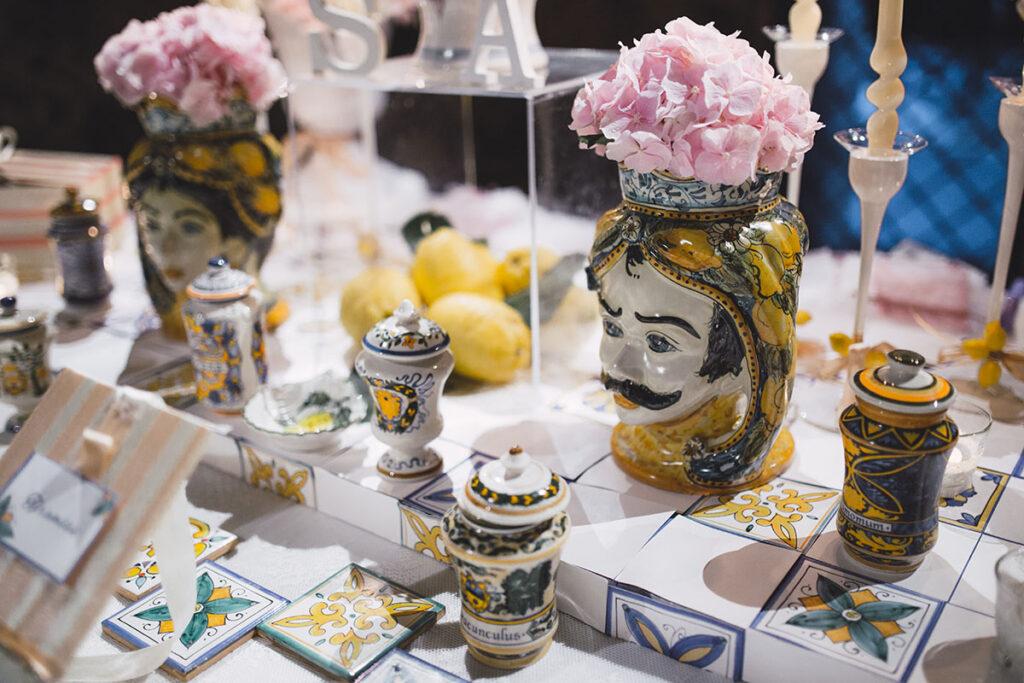 confettate per matrimoni in stile amalfitano