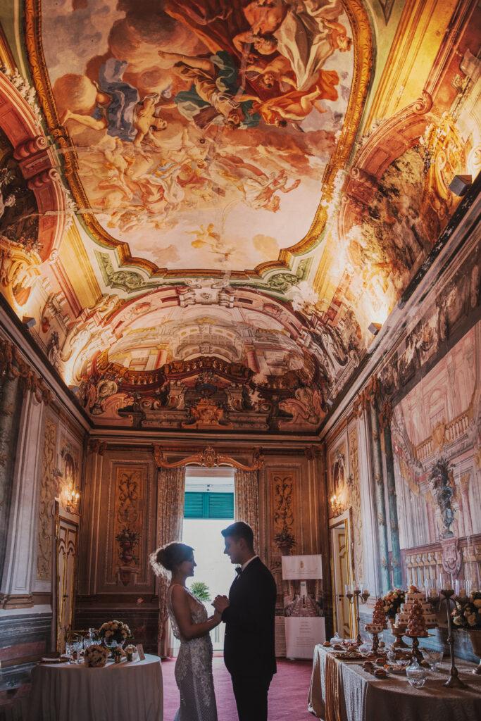 matrimonio in villa barocca