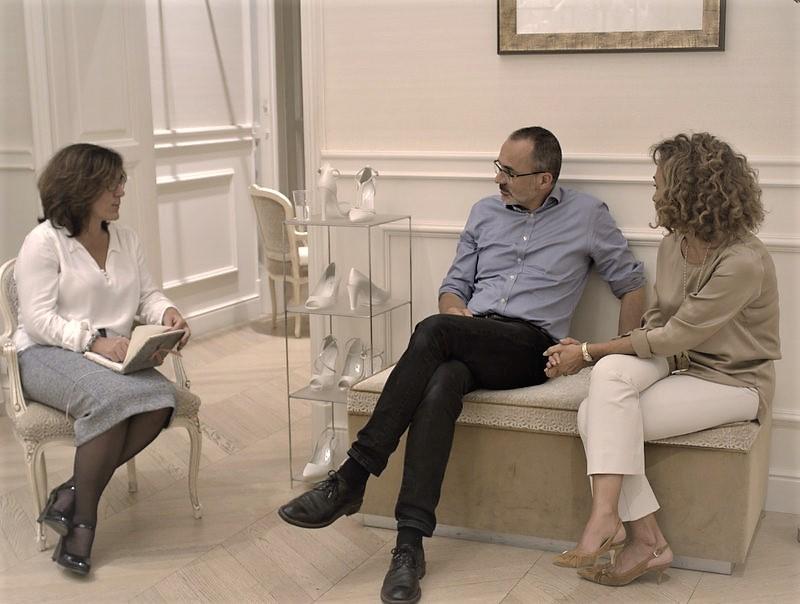 Intervista a Peter Langner, l'artista degli abiti da sposa.