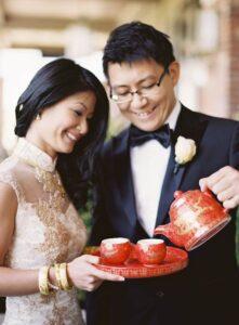 matrimonio cinese : il rito del tè.