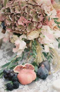 Rimandare matrimonio in autunno.Frutta
