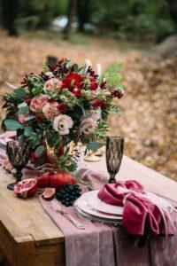 Rimandare matrimonio in autunno:velluto.