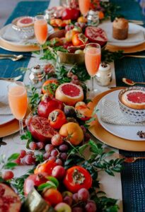 Matrimonio in autunno. Arancio
