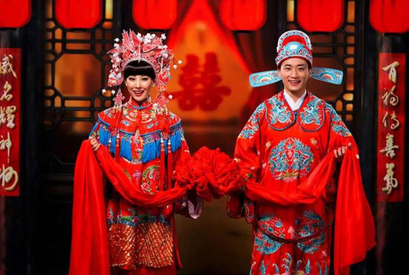 Tradizioni e usanze del matrimonio cinese.