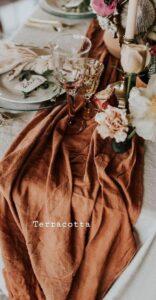 Matrimonio in autunno.terracotta