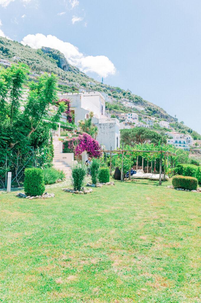 Villa per matrimonio a Praiano