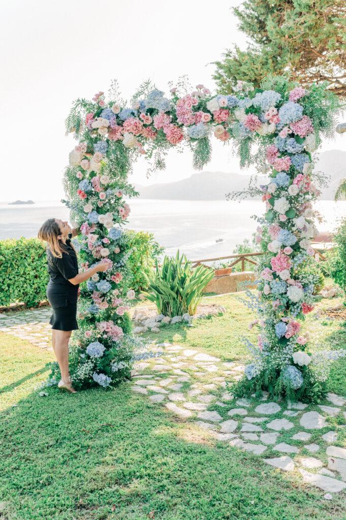 fiorista Starace arco floreale floral Arch