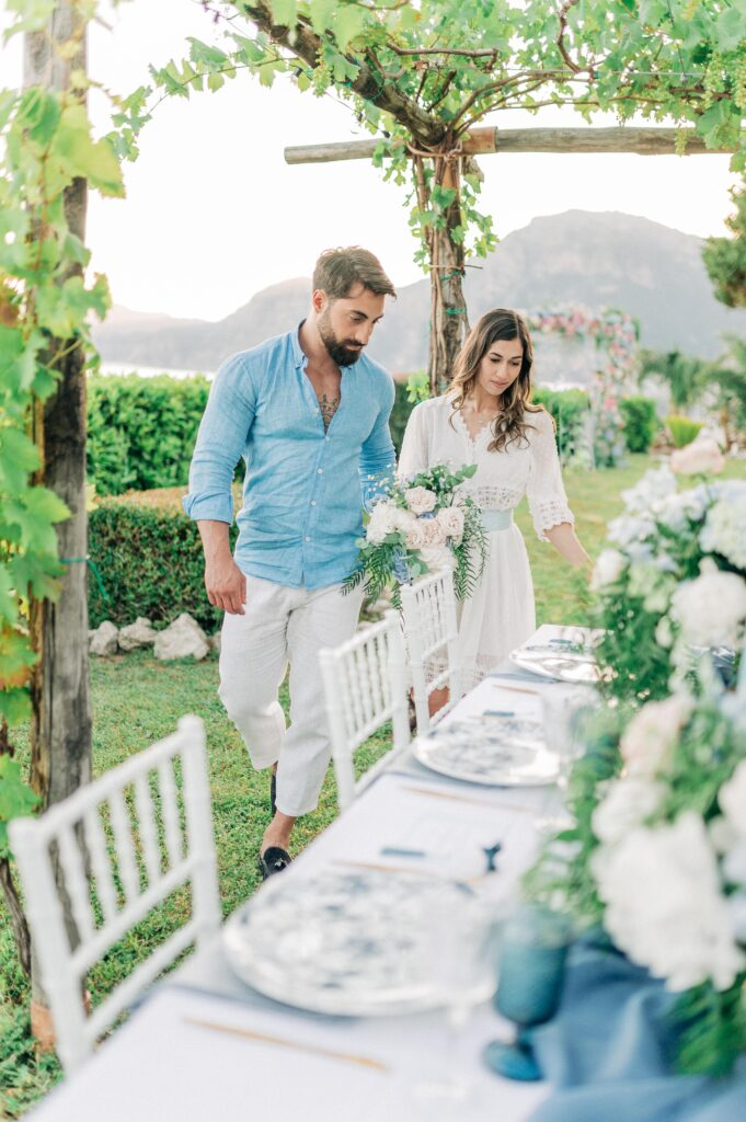 Matrimonio all'aperto. Alfresco wedding . elopement wedding