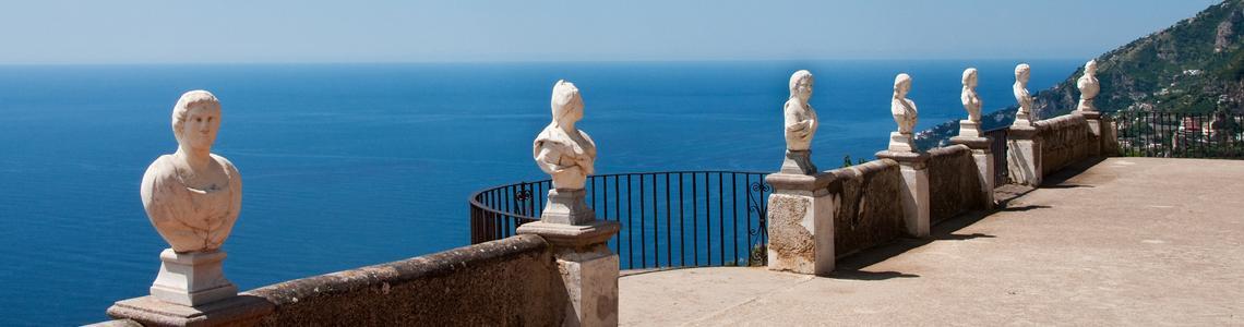 Villa Cimbrone: matrimonio da sogno.